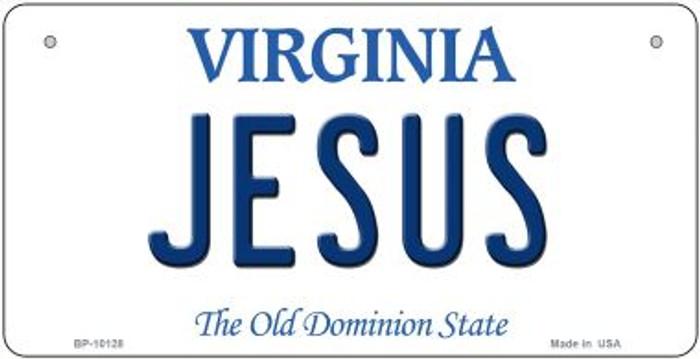 Jesus Virginia Novelty Metal Bicycle Plate BP-10128