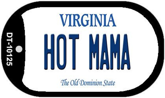 Hot Mama Virginia Novelty Metal Dog Tag Necklace DT-10125