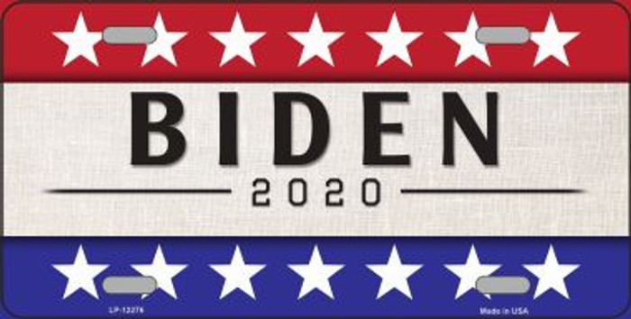 Joe Biden 2020 Novelty Metal License Plate LP-12276