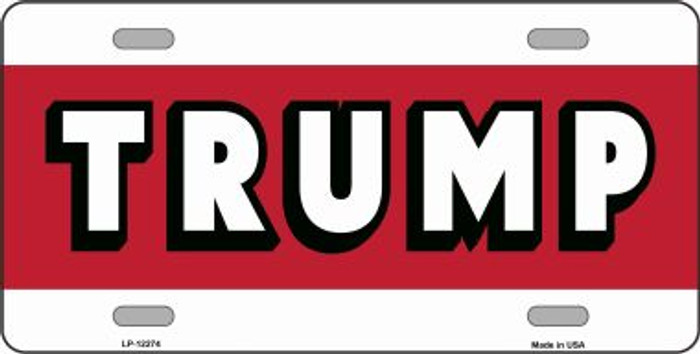 Trump Novelty Metal License Plate LP-12274