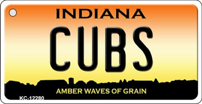 Cubs Indiana Novelty Metal Key Chain KC-12280