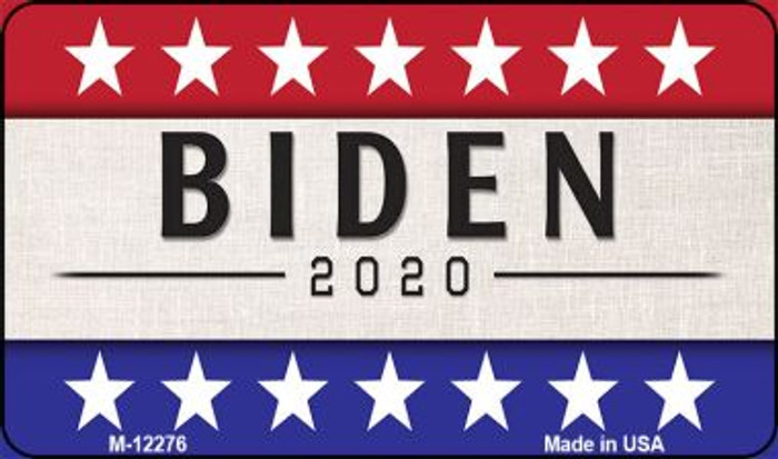 Biden 2020 Novelty Metal Magnet M-12276