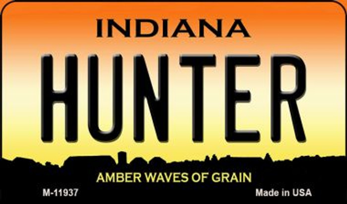 Hunter Indiana Novelty Metal Magnet M-11937