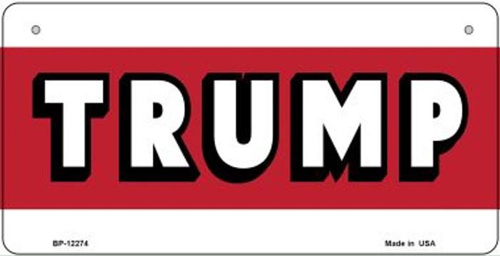Trump Novelty Metal Bicycle Plate BP-12274