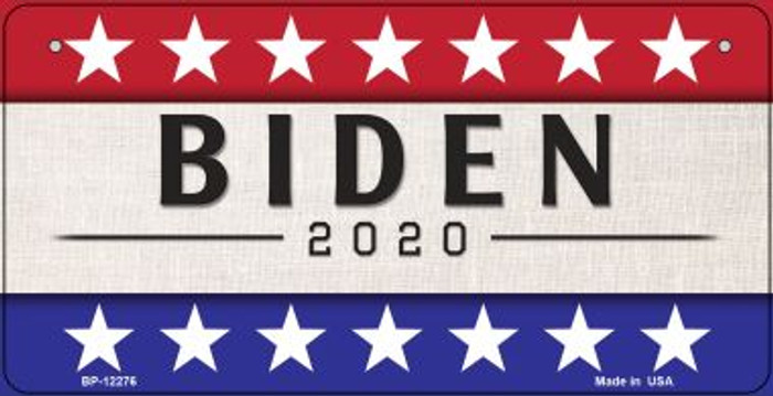 Biden 2020 Novelty Metal Bicycle Plate BP-12276
