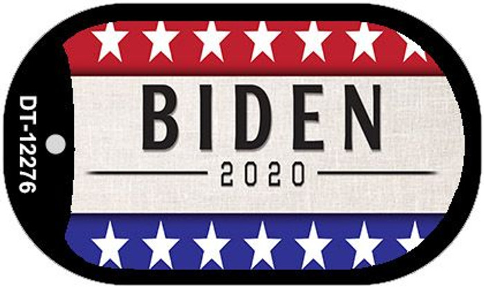 Biden 2020 Novelty Metal Dog Tag Necklace DT-12276