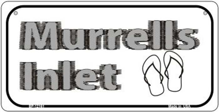 Murrells Intel SC Novelty Metal Bicycle Plate BP-12161