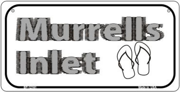 Murrells Intel SC Novelty Metal Bicycle Plate BP-12161