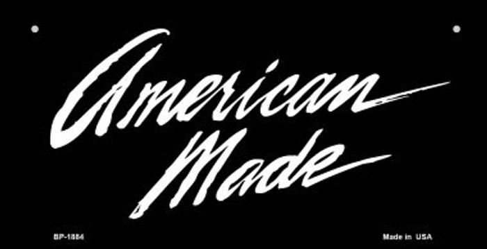 American Made Novelty Metal Bicycle Plate BP-1884