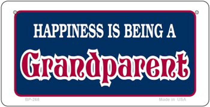 Happiness is Being Novelty Metal Bicycle Plate BP-268