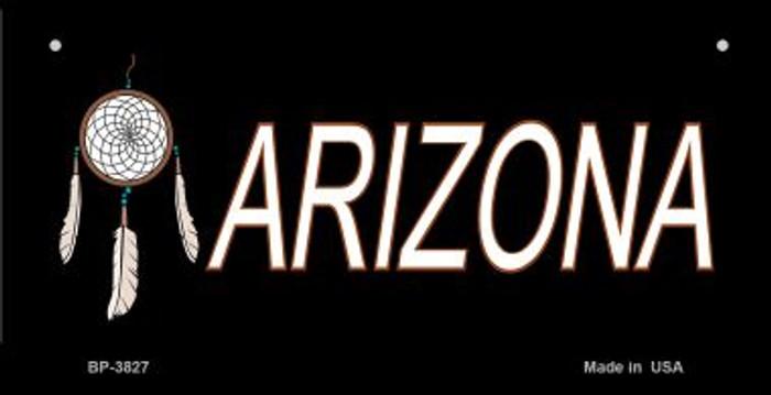 Dreamweaver Arizona Novelty Metal Bicycle Plate BP-3827