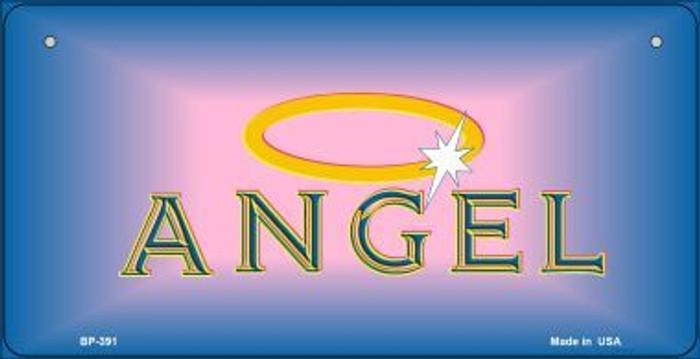 Angel Novelty Metal Bicycle Plate BP-391