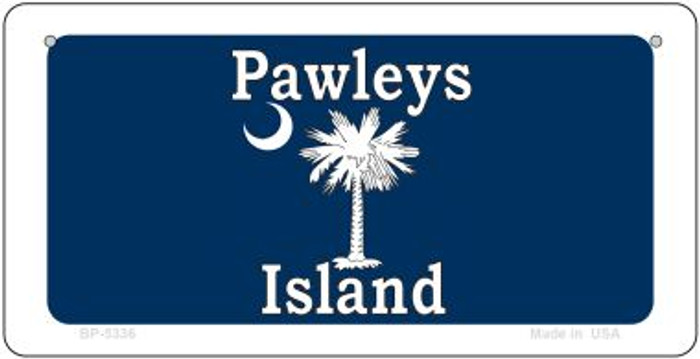 Pawleys Island Blue Novelty Metal Bicycle Plate BP-5336
