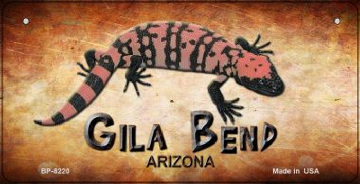Gila Bend Arizona Novelty Metal Bicycle Plate BP-8220