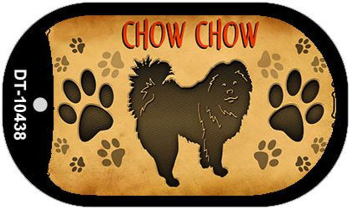 Chow Chow Novelty Metal Dog Tag Necklace DT-10438