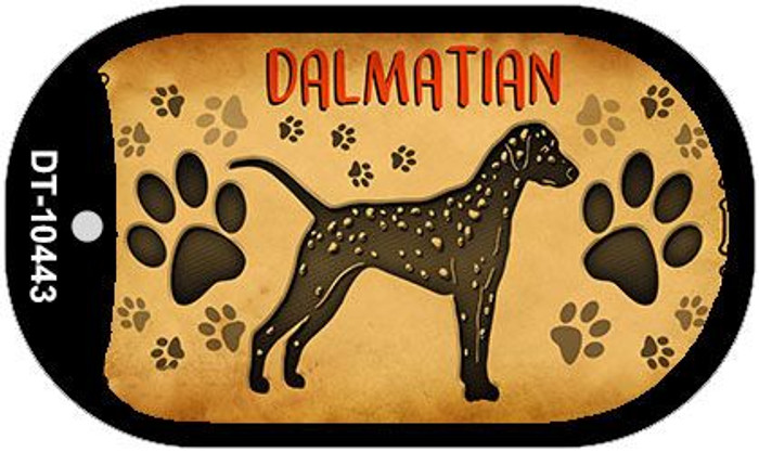 Dalmations Novelty Metal Dog Tag Necklace DT-10443