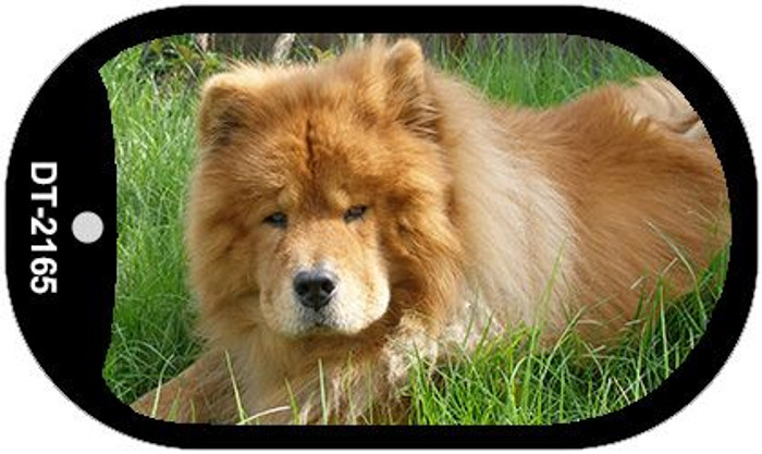 Chow Chow Novelty Metal Dog Tag Necklace DT-2165