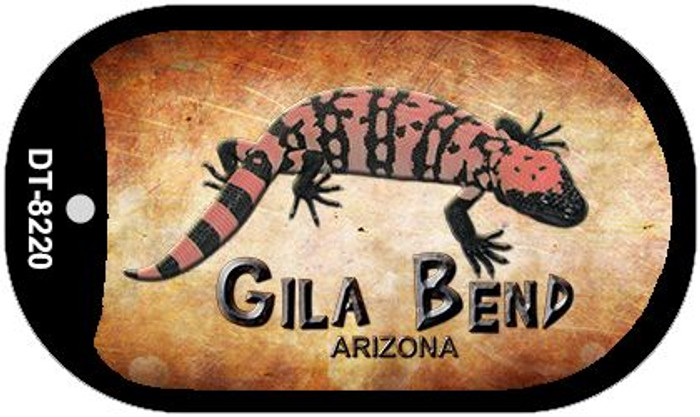 Gila Bend Arizona Novelty Metal Dog Tag Necklace DT-8220