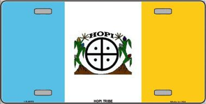 Hopi Tribe Flag Metal Novelty License Plate LP-5033