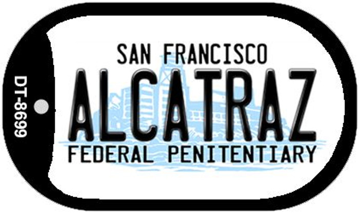 Alcatraz San Francisco Novelty Metal Dog Tag Necklace DT-8699