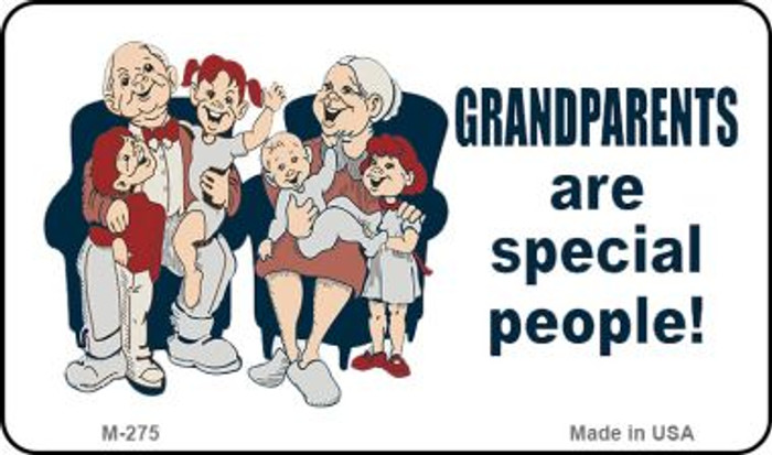 Grandparents Are Special Novelty Metal Magnet M-275
