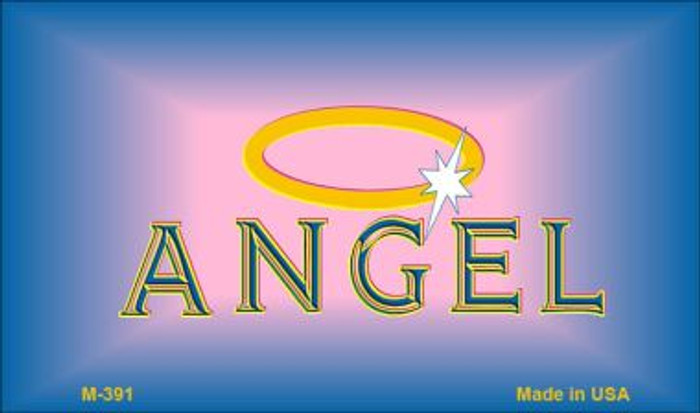 Angel Novelty Metal Magnet M-391