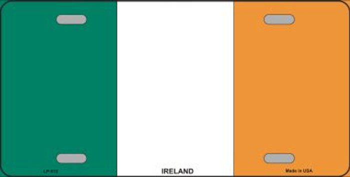 Ireland Flag Metal Novelty License Plate LP-512