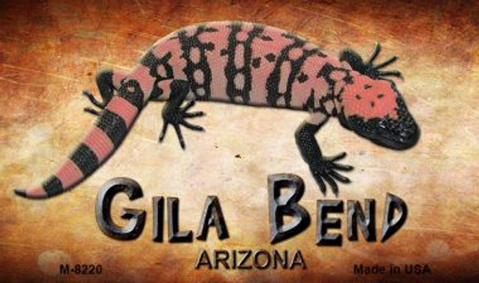 Gila Bend Arizona Novelty Metal Magnet M-8220