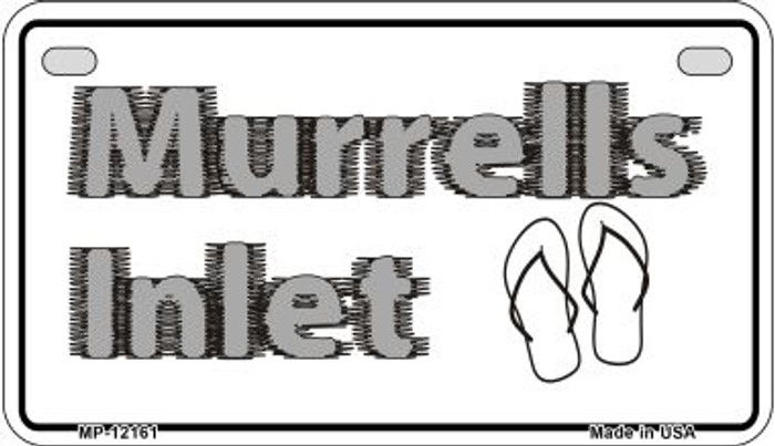 Murrells Intel SC Novelty Metal Motorcycle Plate MP-12161