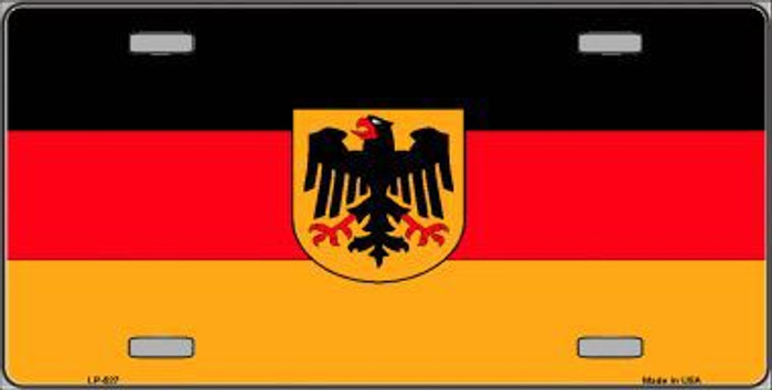 Germany State Flag Metal Novelty License Plate LP-527