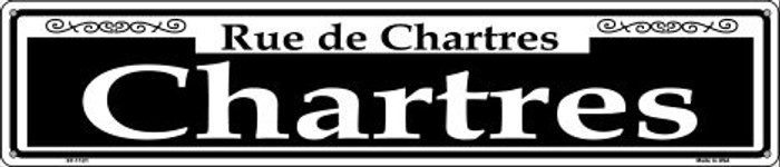 Chartres Novelty Metal Street Sign ST-1121