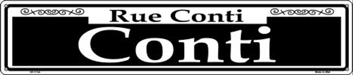 Conti Novelty Metal Street Sign ST-1134