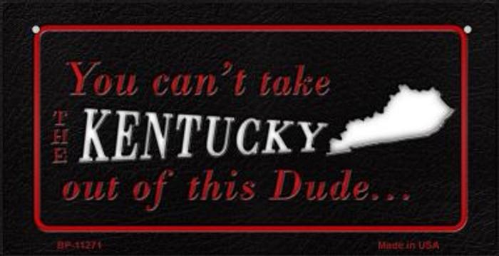 Kentucky Dude Novelty Metal Bicycle Plate BP-11271