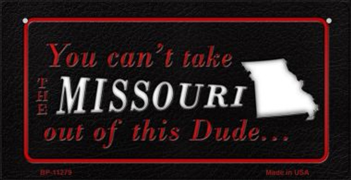 Missouri Dude Novelty Metal Bicycle Plate BP-11279