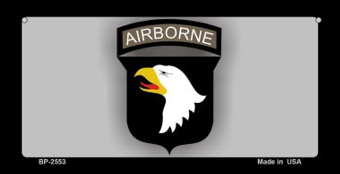 Airborne Eagle Novelty Metal Bicycle Plate BP-2553