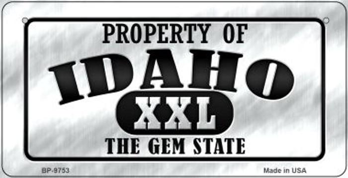 Property Of Idaho Novelty Metal Bicycle Plate BP-9753