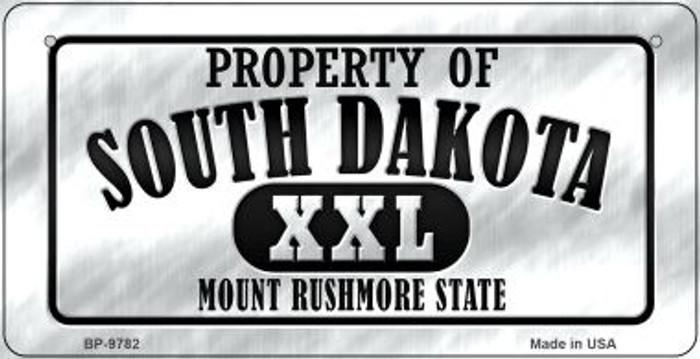 Property Of South Dakota Novelty Metal Bicycle Plate BP-9782