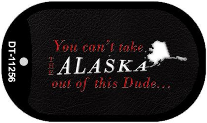Alaska Dude Novelty Metal Dog Tag Necklace DT-11256
