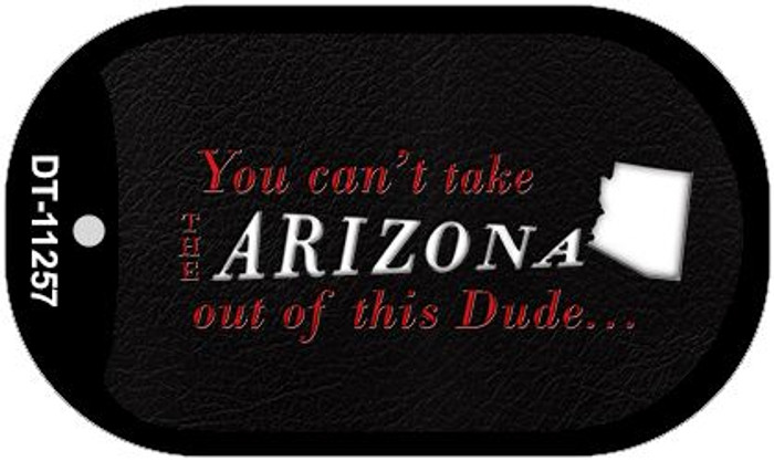 Arizona Dude Novelty Metal Dog Tag Necklace DT-11257