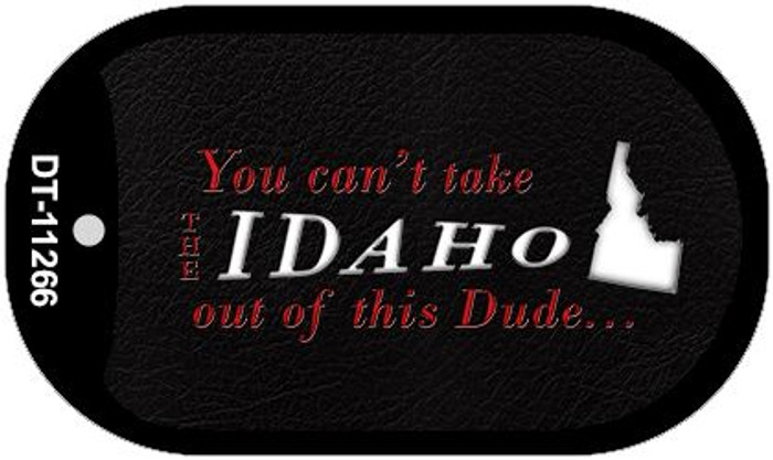 Idaho Dude Novelty Metal Dog Tag Necklace DT-11266