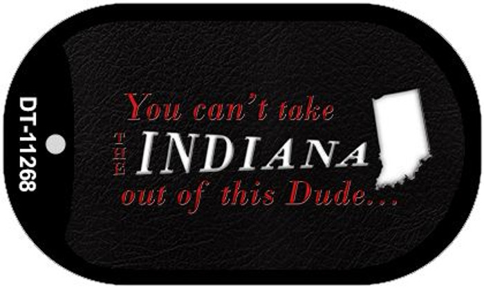 Indiana Dude Novelty Metal Dog Tag Necklace DT-11268
