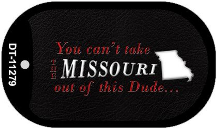 Missouri Dude Novelty Metal Dog Tag Necklace DT-11279