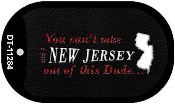 New Jersey Dude Novelty Metal Dog Tag Necklace DT-11284