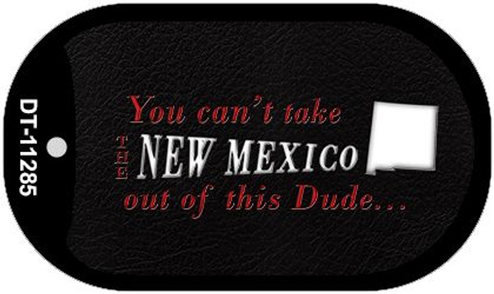 New Mexico Dude Novelty Metal Dog Tag Necklace DT-11285