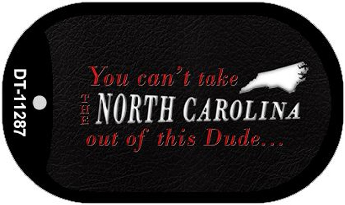 North Carolina Dude Novelty Metal Dog Tag Necklace DT-11287