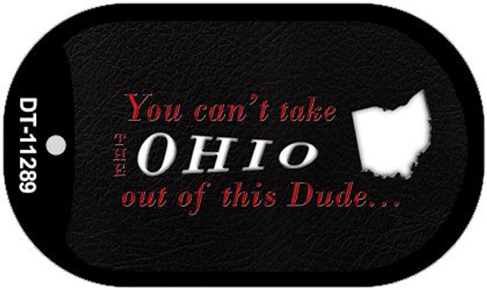 Ohio Dude Novelty Metal Dog Tag Necklace DT-11289