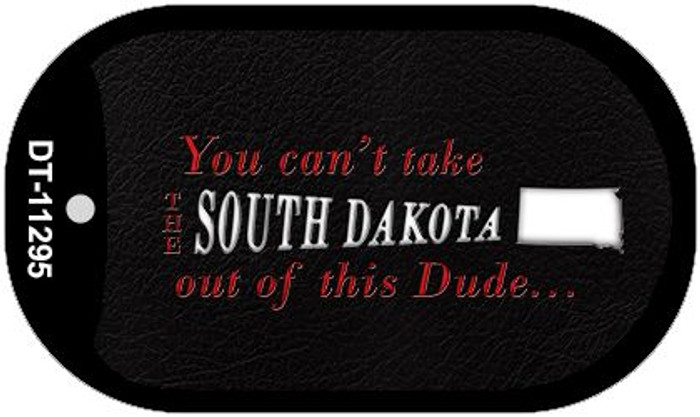 South Dakota Dude Novelty Metal Dog Tag Necklace DT-11295
