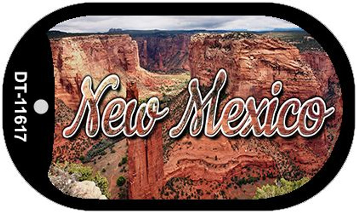 New Mexico Red Canyon Novelty Metal Dog Tag Necklace DT-11617