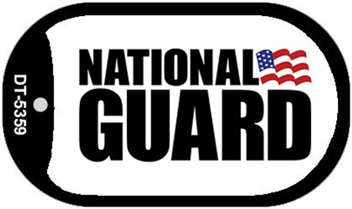 National Guard Novelty Metal Dog Tag Necklace DT-5359