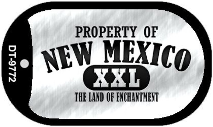 Property Of New Mexico Novelty Metal Dog Tag Necklace DT-9772